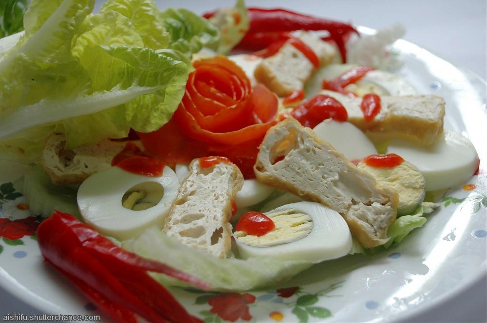 photoblog image Salad