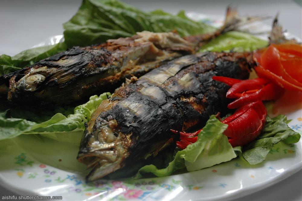 photoblog image Fish grilled or 'ikan bakar'
